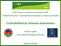 Diapositiva 1 - CHEC Grupo EPM