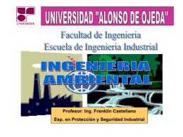Diapositiva 1 - Prof. Franklin Castellano