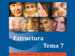 Estructura Tema 7