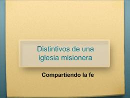 Diapositiva 1 - Ministerios d' Vida
