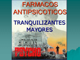 FARMACOS ANTIPSICOTICOS - Biblioteca Central de la
