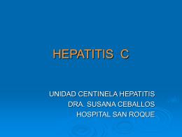 HEPATITIS C - Ministerio de Salud Jujuy