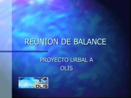 REUNION DE BALANCE