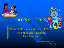 BOYS and GIRLS - PBIS Maryland Home