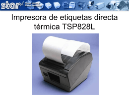 TSP828L Direct Thermal Label Printer