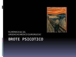 BROTE PSICOTICO