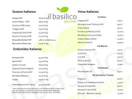 Diapositiva 1 - Il Basilico Ristorante