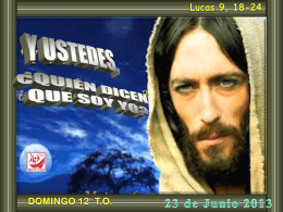 Tiempo Ordinario 12 C // 20 junio 2010