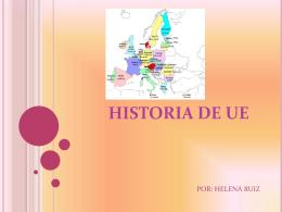 HISTORIA DE UE
