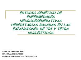 ENFERMEDADES NEURODEGENERATIVAS HEREDITARIAS …