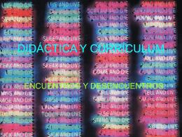 Diapositiva 1 - DIDACTICA GENERAL