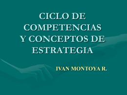 CICLO DE COMPETENCIAS Y CONCEPTOS ESTRATEGIA