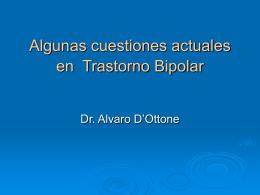Novedades en bipolaridad