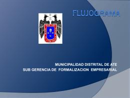 Diapositiva 1 - Municipalidad Distrital de Ate