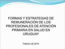 Uruguay – datos generales
