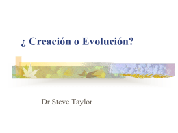 Creation or Evolution