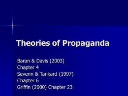Propaganda Theory