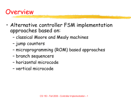 Chapter #12: Controller Implementation Contemporary …
