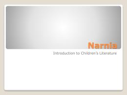 Narnia - Joel Heck