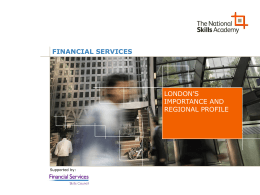 FINANCIAL SERVICES - Birkbeck, University of London