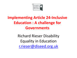 Implementing Article 24-Inclusive Education : A …