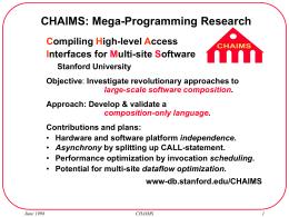 MEGA programming