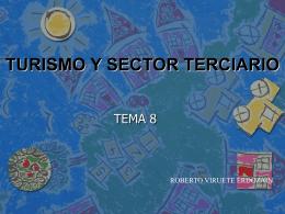 TURISMO Y SECTOR TERCIARIO