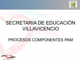 SECTOR EDUCACION VIGENCIA 2006-2007