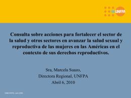 Consulta sobre acciones para fortalecer el sector de la