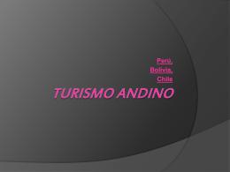 Turismo andino