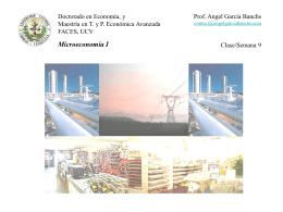 Clase 9 Microeconomia I