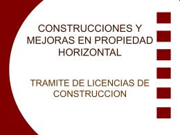 CONSTRUCCIONES Y MEJORAS EN PROPIEDAD …