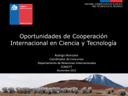 Science and Technology in Chile