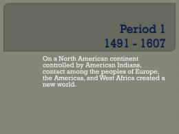 Period 1 1491