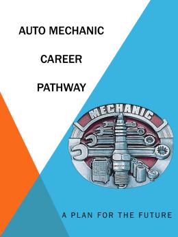 Auto MechANIC Career pATHWAY