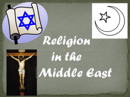 Religion in the Middle East