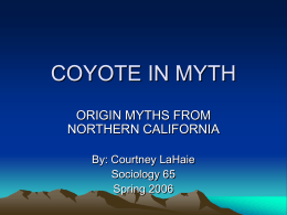 COYOTE IN MYTH - Mac OS X Server