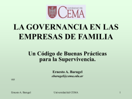 Corporate Governance para Directores