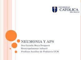 NEUMONIA Y APS