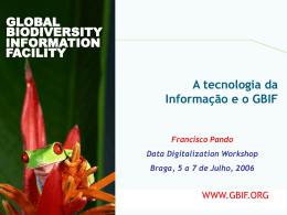 GLOBAL BIODIVERSITY - gbif.pt | Global Biodiversity
