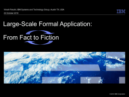 IBM Presentations: Smart Planet Template