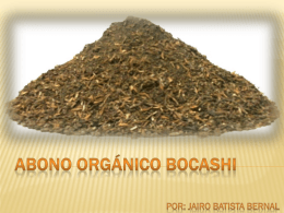 ABONO ORGANICO BOCACHI - Azuero Earth Project | The