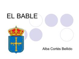 EL BABLE.