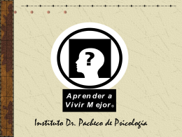 Los Tics - Instituto Dr. Pacheco de Psicologia (IDPP