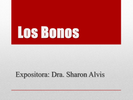 VALORES MOBILIARIOS.