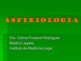 ASFIXIOLOGIA - Aula Virtual