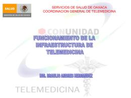 Diapositiva 1 - TELEMEDICINA OAXACA | Nodo Central