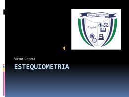 estequiometria - Colegio Manzanares
