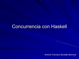 Concurrencia con Haskell