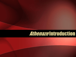 Athenaze Introduction